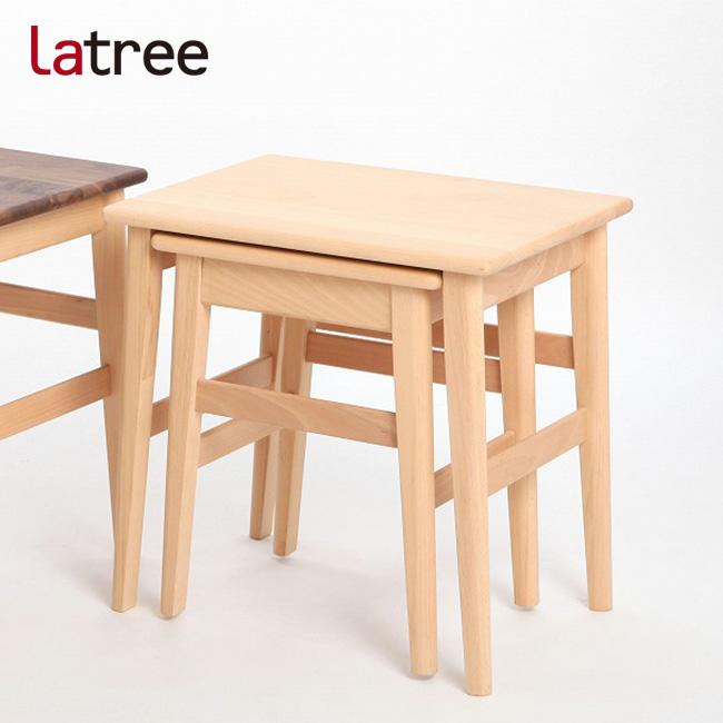 PLAM プラム ネストテーブル1 ビーチ PL1ONE-0130500-BEUF[ナチュラルで可愛い木製テーブル(センターテーブル)一人暮らしのインテリアにもおすすめなテーブル] 送料無料