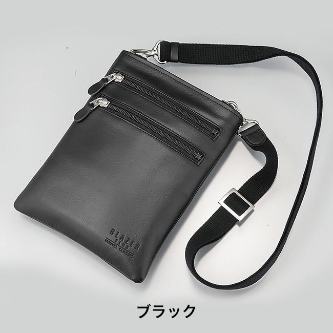78523931c1872 ... 日本製スリムな牛革ショルダーポーチ メンズにおすすめ日本製の革の