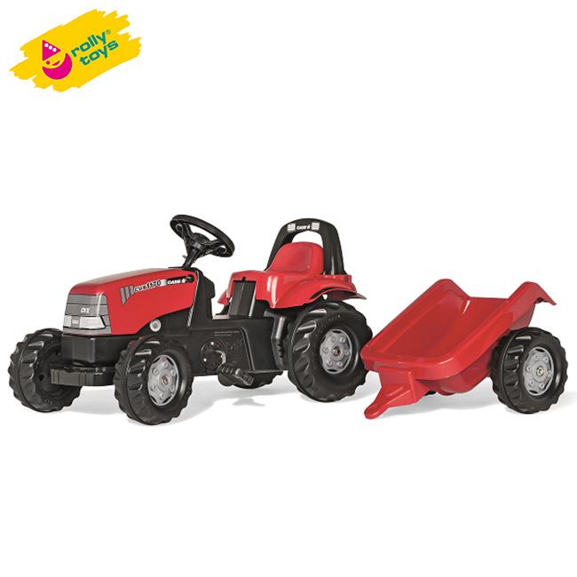 Rolly Toys ロリートイズ Caseキッズ RT012411[乗用玩具 足けり 乗り物 トラクター おもちゃ]