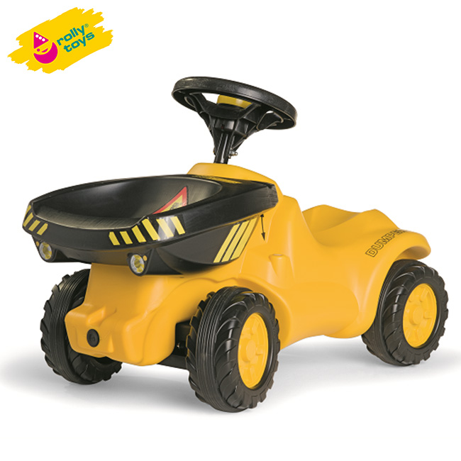 新商品限定◆500円OFFクーポンあり!Rolly Toys ロリートイズ ダンパーミニ RT132140[乗用玩具 足けり 乗り物 トラクター おもちゃ]