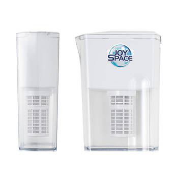 ポット型浄水器 ジョイスペース ミネラル [浄水器 ポット型 家庭用 自宅 スリム設計 長寿命 ろ過スピード早い 冷蔵庫 日本製 おいしい水 ランニングコスト安い]