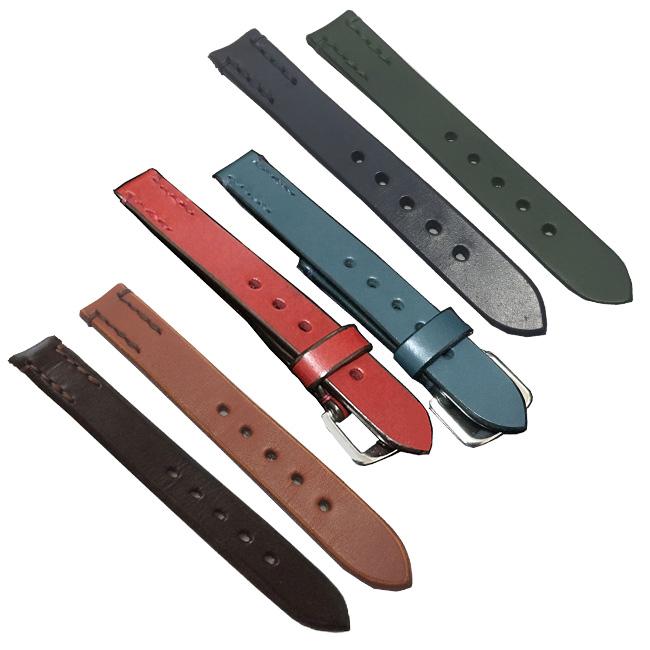 SOMES ソメス レザーバンド 18mm幅[腕時計 ベルト 腕時計専用ベルト バンド レザー 馬具職人 手縫い 馬具専用革 ブライドルレザー]