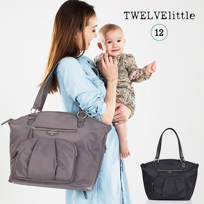 TWELVElittle トゥエルヴリトル サッチェル[マザーズバッグにもなるおしゃれなサッチェルバッグ 育児におすすめのママバッグ 軽量で撥水加工のナイロンのバッグ 人気のバッグ]