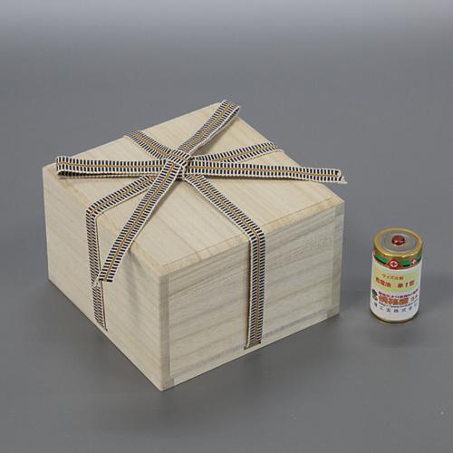 陶芸箱 買い物 組盃4.0寸サK W128D128H81 ●スーパーSALE● セール期間限定 桐箱 日本製