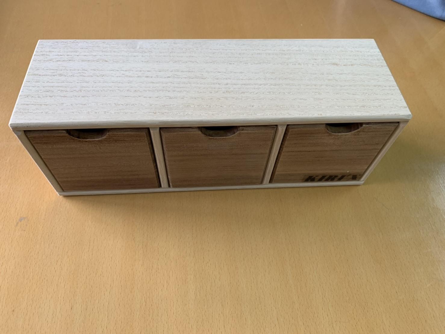 たてよこ自在BOX 小 単品 割引 国産 桐製 オリジナル 手作り 職人 小物入れ プレゼント 伝統工芸 情熱セール 母の日 保存 父の日 収納