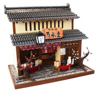 京都町屋工具包 / 陶器店手工房子比利娃娃屋包微缩模型