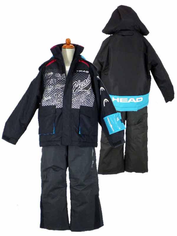 キッズ/ジュニア/男の子★HEADスキーウェア/スノーウェアー/スノーボード/スキースーツ/上下セット