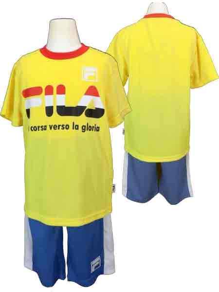 41010b89f4d0 kirinya-webshop  Kids   youth   child   boy ☆ FILA (Fila) T suit  T ...
