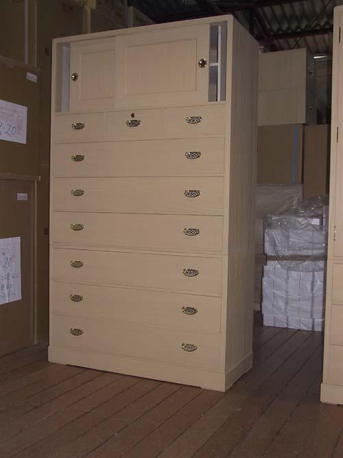 桐たんすタンス箪笥シンプル 着物 収納 総桐収納箪笥(整理) 製造直売 商品番号549