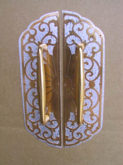桐箪笥 金具 取っ手 和光前飾り 商品番号kanaguH