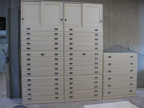 桐たんす 桐タンス チェスト 着物 収納 総桐箪笥3点セット製造直売 商品番号2816