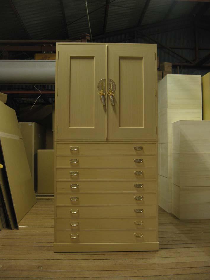 桐たんす 法衣 袈裟 総桐法衣箪笥・特注品 製造直売 商品番号3481
