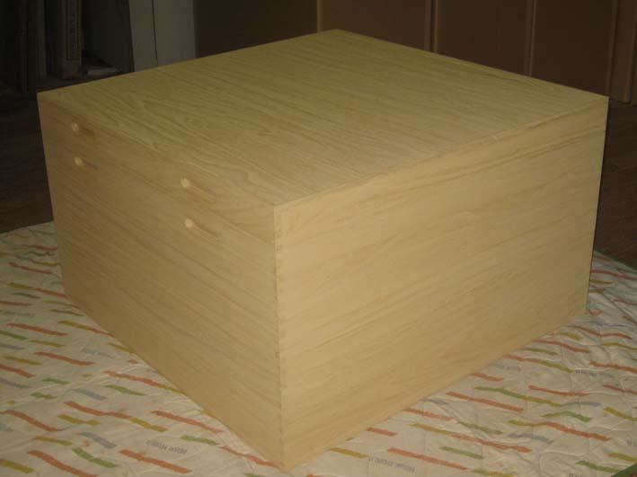 衣装箱 桐箱 収納 木製 総桐提灯入れ・特大・特注品 製造直売 商品番号4080