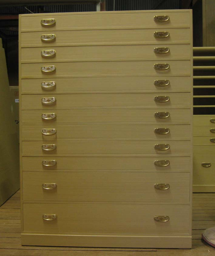 桐たんす 着物 収納 総桐整理箪笥12段(浅10・深2)製造直売 商品番号3562-1