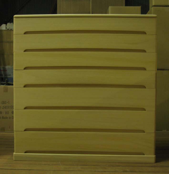 桐たんす 着物 整理 オリジナル チェストタイプ 総桐チェスト箪笥7段・浅4深3 製造直売 商品番号5807