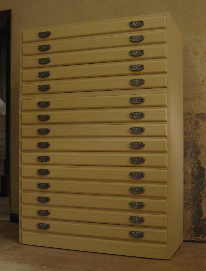 桐箪笥 着物 収納 整理 重ね式 総桐着物箪笥15段・重ね式 製造直売 商品番号 48315T