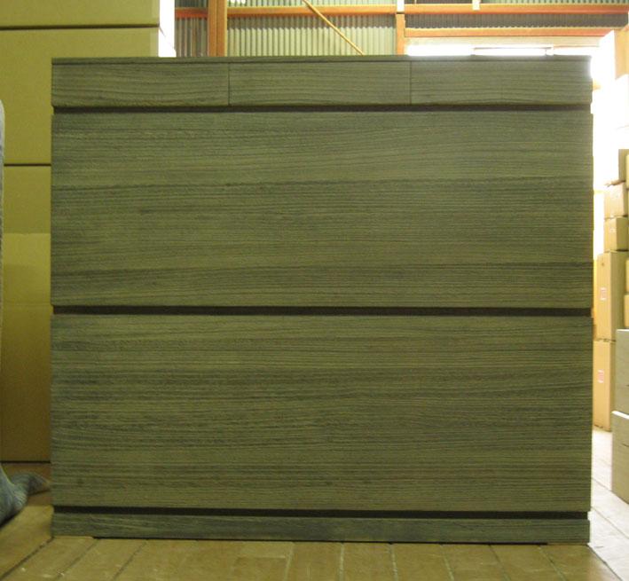 桐たんす 桐タンス チェスト 収納 整理 レール付 焼桐 総桐収納箪笥・レール付・時代仕上げ 製造直売 商品番号 5851
