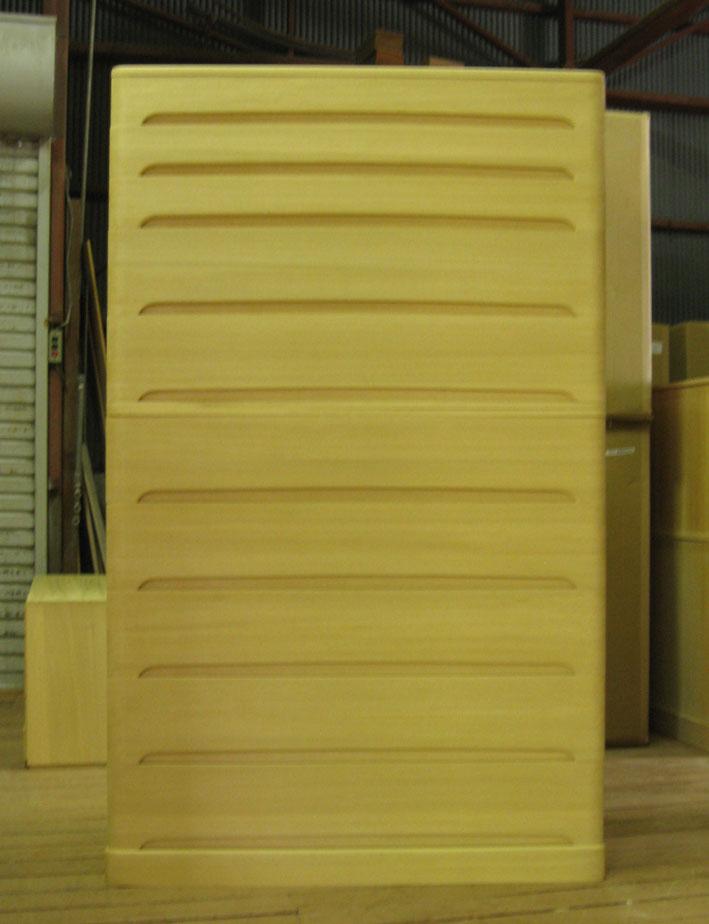 桐たんす 桐タンス チェスト 着物 収納 整理 総桐クローゼット箪笥10段 重ね式 製造直売 商品番号5807T