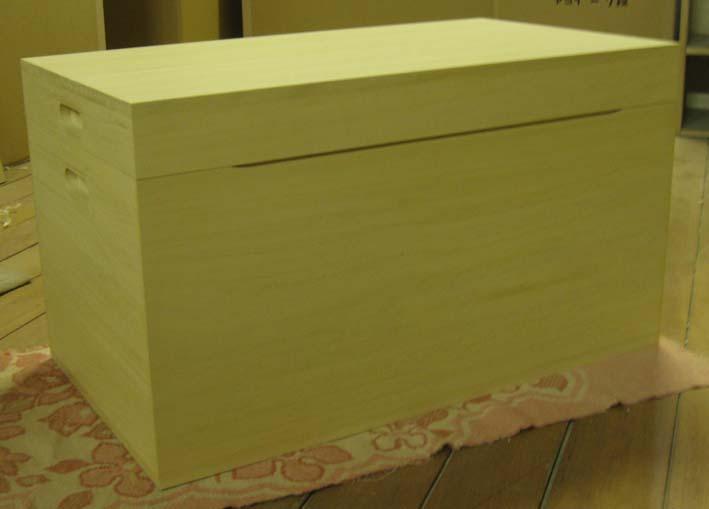 桐たんす 衣装箱 木製 箱 総桐衣装箱1段 特注品 製造直売 商品番号 6057