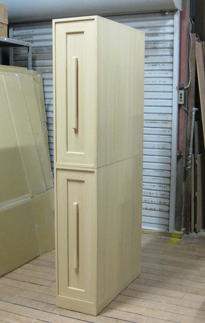 桐タンス 桐たんす 収納 総桐収納庫・2段重ね式 製造直売 商品番号7296