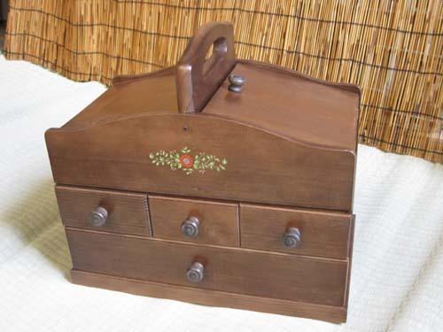 裁縫箱ソーイングボックスコスメボックス母の日ソーイングボックス・オリビア 商品番号SO-1