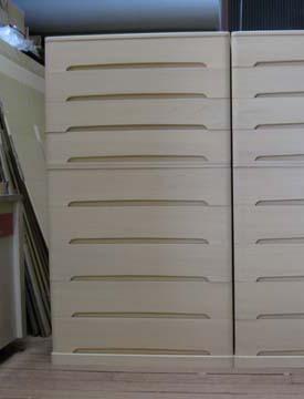 たんすタンス箪笥チェストモダン帯収納 総桐帯箪笥・9段製造直売 商品番号575TZobi