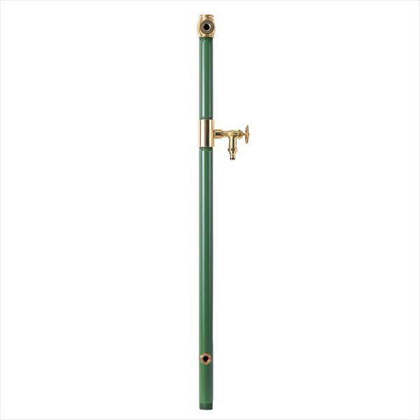 オンリーワン エッセンスガーデン 水栓柱 双口  IB3-GF327026 『水栓柱・立水栓 蛇口は別売り』 モス
