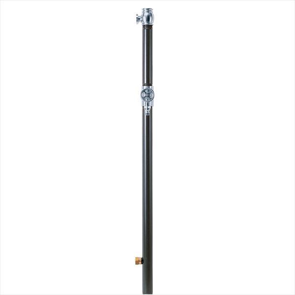 オンリーワン エッセンスガーデン 水栓柱 双口  IB3-GF327020 『水栓柱・立水栓 蛇口は別売り』 チャコール(クロームサテン)