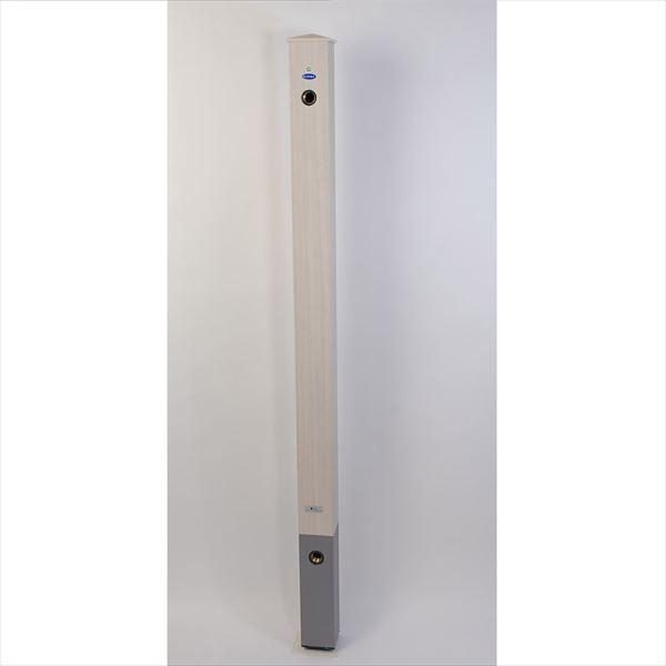 オンリーワン 木目アルミ立水栓  GM3-AL-100TW *蛇口は別売りです タモホワイト