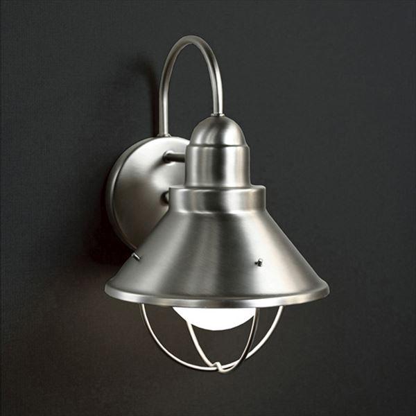 オンリーワン ウォールマウントライト ベーシック LED MA1-9022NLD 『エクステリア照明 ライト』 ヘアラインシルバー