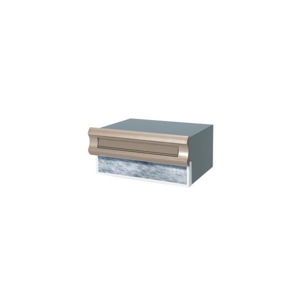 三協アルミ SON-2DK型 ダイヤル錠付 1ブロックタイプ 『郵便ポスト』 アーバングレー