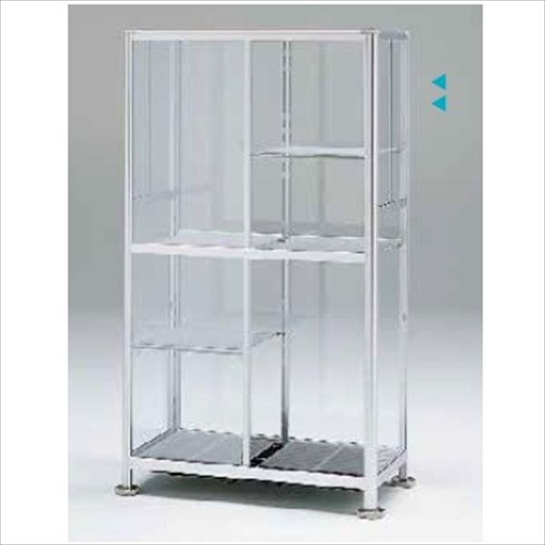 『欠品中』ピカコーポレーション 小型温室 FHB-1508S 『アルミ製/組立品』 シルバー