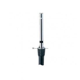 サンポール リフター ステンレス製 上下式 径76.3 カギ付 スプリング付 エンド用(最終端部) LA-8KCS-E