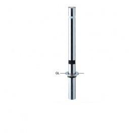 サンポール リフター ステンレス製 固定式 スプリング付き 径76.3 エンド用(最終端部) LA-8UCS-E