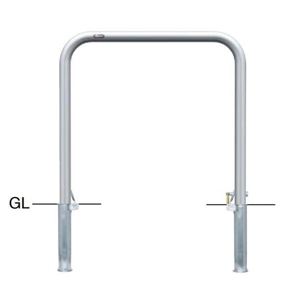 サンポール アーチ ステンレス製(H650) AA-5SK7-650