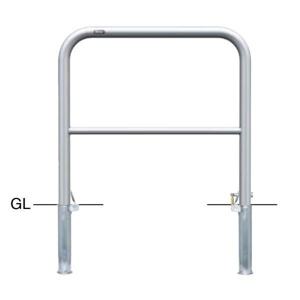 サンポール アーチ ステンレス製(H650) AH-5SK7-650