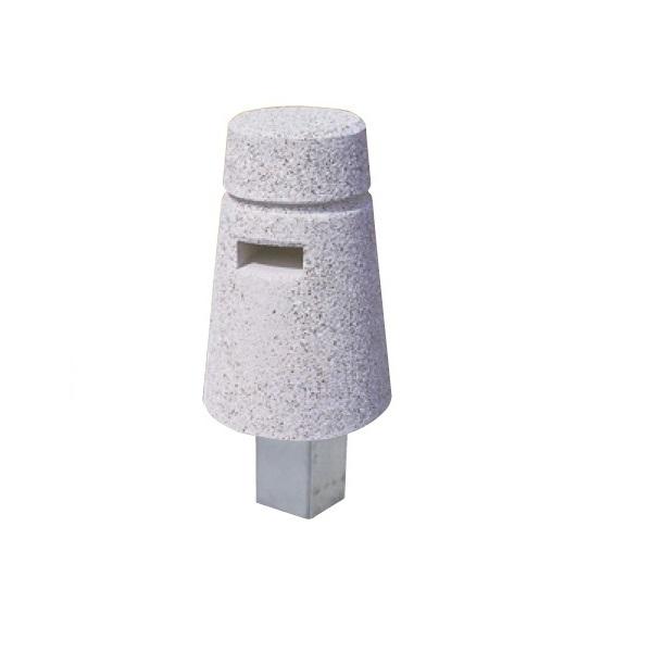 送料無料 サンポール 安売り 擬石ポール 可動式 予約販売 擬石ボラード 個人宅配送不可 SG-BS
