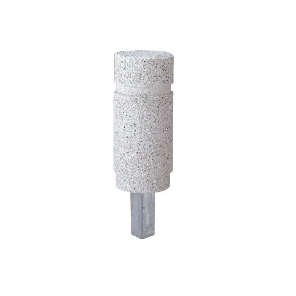 送料無料 サンポール 擬石ポール 可動式 アイテム勢ぞろい SG-150S 擬石ボラード 個人宅配送不可 まとめ買い特価