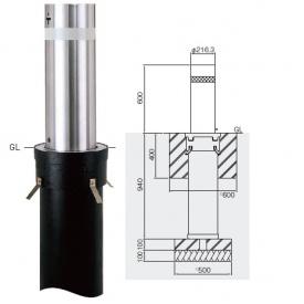 帝金 KS-2160CT バリカー上下式 バランサー内蔵 直径216.3mm