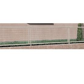 リクシル TOEX アルメッシュフェンス1型 フリーポールタイプ用 本体 T-10  『アルミフェンス 柵』