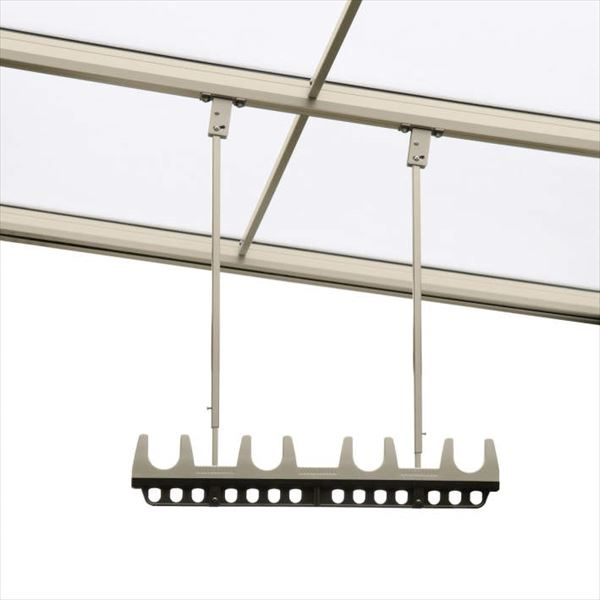 三協アルミ 竿掛け 吊り下げ型 調整式 ロング 2本入り SATV-03K-2L   『物干し 屋外』