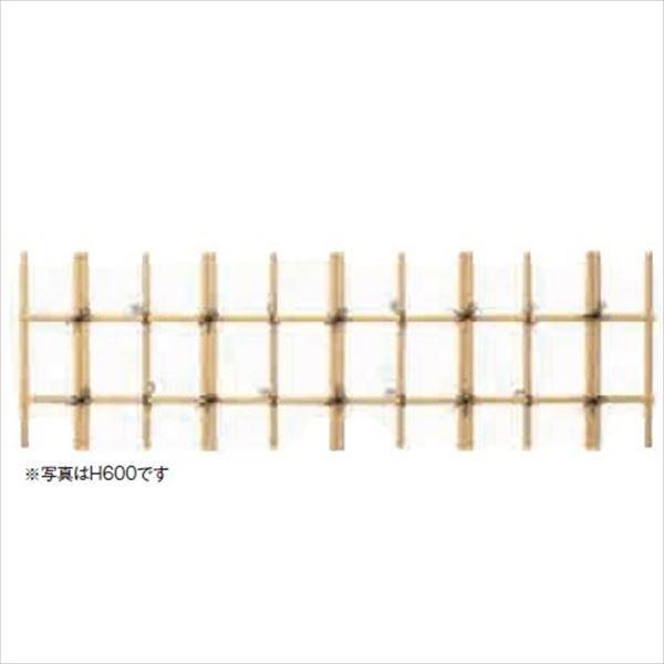 グローベン シンプルユニット 四ツ目垣 黄竹 H600 基本 A18HF106Y