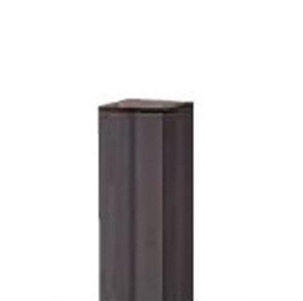 グローベン Gユニット 柱ユニット ブラック60角 H1800用 端柱 A11GE118K 『角柱 竹垣』