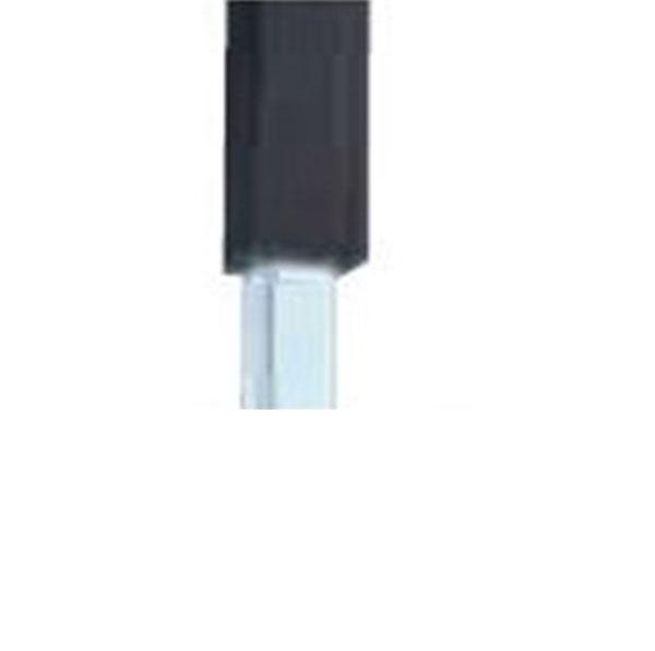 グローベン Gユニット 中芯柱ユニット(中芯40角スチール仕様) ブラック60角 H1400用柱 端柱 A11GE114K-S 『角柱 竹垣』