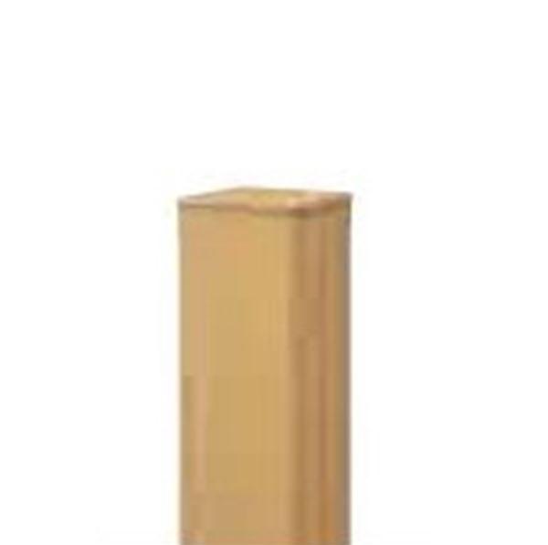 グローベン Gユニット 柱ユニット 『Gユニット8型専用』 イエロー60角 H1800用柱 直角柱 A11GC218Y 『角柱 竹垣』