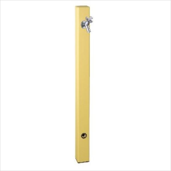 前澤化成工業 パレットシリーズ(EX柱)  バルブソケット接合タイプ  HI-A1型 イエロー 『立水栓 蛇口は別売り』