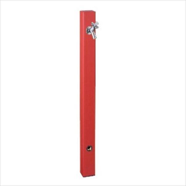 前澤化成工業 パレットシリーズ(EX柱)  バルブソケット接合タイプ  HI-A1型 レッド 『立水栓 蛇口は別売り』