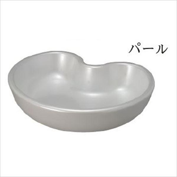前澤化成工業 水栓パン デザインパン ハート形550 パール