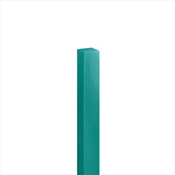 オンリーワン ハーモニーピラー(特注色) 75角×H1200 1本入り 青緑色 KX2-T75-1208