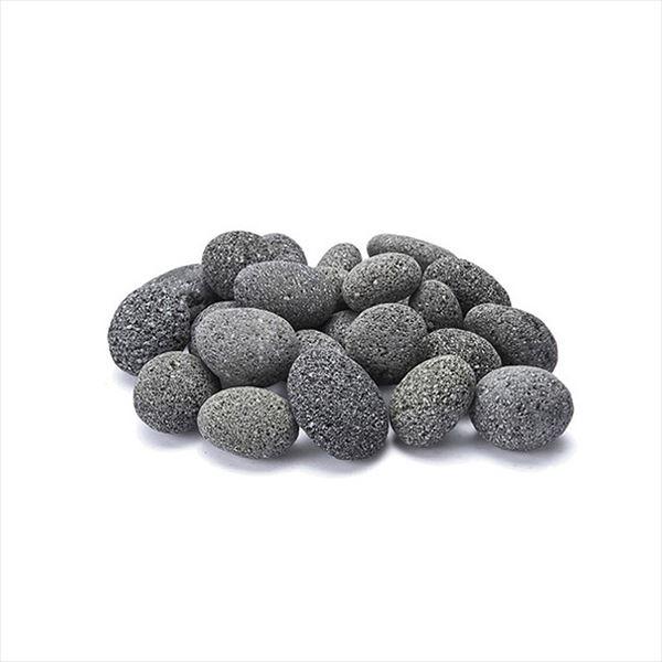 『個人宅配送不可』オンリーワン ゴロタ石 アクアぺブル グレー M  1袋(20kg) NH2-AQP-1M